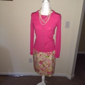 Brooks Brothers Floral Skirt